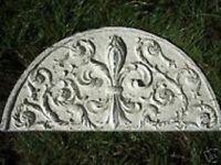 """Roman border trim molds set 2 poly plastic moulds 7 /& 7//8/""""L x 2 /& 3//8/"""" W x 3//8/"""""""