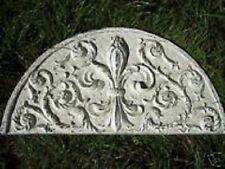 Gostatue Fleur de lis  pediment plastic mold concrete plaster mould
