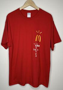 Travis Scott x Cactus Jack x McDonald's Crew T-Shirt - XL -