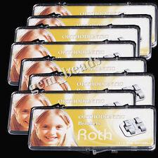 50X Dental Orthodontic MIM Bracket Brace Mini Roth 022 345 Hooks 20Pc/BOX CE&FDA