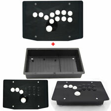 DIY Arcade All Button Fighting Game Controllers Hitbox Acrylic Panel and Case