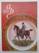 ABC décor N°189-190 1980 /art déco/Beaufrere:peintre de Pont-Aven/Choisy:faÏence