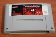 JEU super nintendo SPIDER-MAN VENOM MAXIMUM CARNAGE EUR  SNES