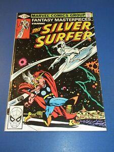 Silver Surfer #4 Reprint Fantasy Masterpieces Thor vs Surfer Fine+ Beauty