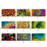 Multi Print Leather Money Long Wallet For Women Girls Credit Card Holder Purse
