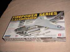 Lindberg 1/48 Scale  F-8J Crusader Fighter Jet Model Kit # 72523    (NISB)