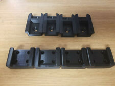 4 Pack 3D Printed Tool Holder & Battery Holder for Milwaukee M18 Tools Black