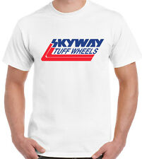 Skyway TUFF Ruedas-Para Hombre Retro Bmx camiseta de Bicicleta MTB Ciclismo bandido Mongoose