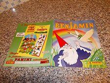 ALBUM BENJAMIN PANINI 1988 COMPLETO PERFETTO DA EDICOLA TIPO OSCAR LULU CREAMY