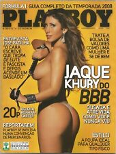 PLAYBOY MAGAZINE BRAZIL # 394 - JAQUE KHURY (3)-  MAR 2008 HOT!!