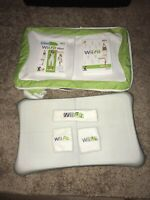 Wii Fit Bundle- Balance Board Two Games (Wii Fit Wii Fit Plus)Carrying Case