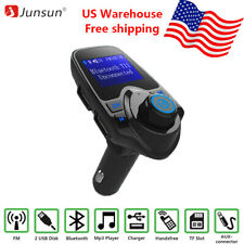 Car Kit Bluetooth MP3 Player FM Transmitter with Handsfree Call