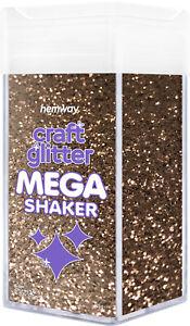 "Hemway Chunky Craft Glitter MEGA Shaker - 1/40"" 0.025"" 0.6mm"