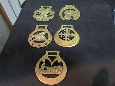 saddle buckles 6 antique brass