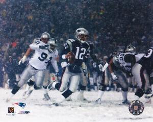 Tom Brady New England Patriots 2001 AFC Divisional Playoff 8x10 Photo
