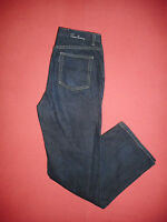 Burberry Button-Fly - Ladies Navy Denim Jeans - Size 12 Leg 30 - B330