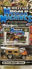 LOT OF 2 MUSCLE MACHINES '42 JEEP MILITARY VEHICLE / '41 WILLYS COUPE
