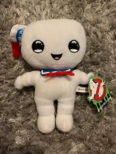"Ghostbusters Stay Puft Happy Marshmallow Plush Stuffed Doll 10"" Super Rare!"