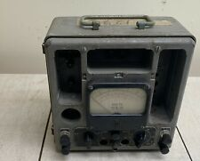 Vintage Vacuum Tube Voltmeter Volts Vtvm Model Ts 375 Au Untested
