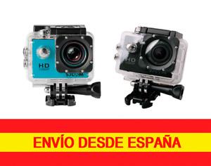 SJCAM SJ4000  1080p sumergible 30 metros 12mp Con Carcasa Acuática y Accesorios