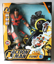 RARE 2003 ACTION MAN FLYNT FIGURE WITH BOARD EUROPEAN HASBRO NEW SEALED !