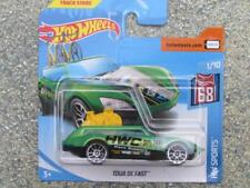 Hot Wheels 2018 # 077/365 TOUR DE RÁPIDO Verde HW DEPORTE
