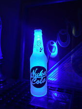 Circular Fallout Nuka Cola Quantum 12 oz Bottle Light LED Bar Man Cave