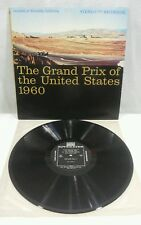 The Grand Prix Of The United States Riverside Cal.1960 Vinyl Record