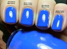 SINFUL COLORS SINFULSHINE WITH GEL TECH Nail Polish in MOST SINFUL ~ BLUE