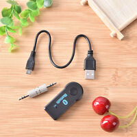 3,5mm Wireless USB Mini Bluetooth Musik Auto Empfänger Sender Adapter New AB