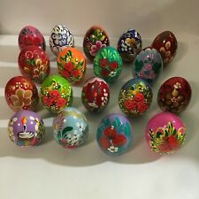 NEW Hand Painted Russian Easter Egg Made In Russia