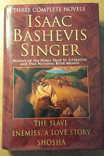 Isaac Bashevis Singer : Three Complete Novels by Isaac Bashevis Singer stor#4952