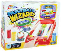 Paintball Wizard Pinball Art Craft Fun Pin Ball Painting Git Set Xmas Present