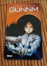Gunnm manga carte calendrier 1996 Glénat rare