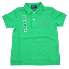 Polo Ralph Lauren Boys Kids Classic Polo Shirt Short Sleeve - Age 2 3 4 2t Light Green