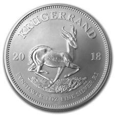 2018 South Africa 1 oz plata Krugerrand BU