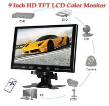 "9"" TFT LCD CCTV Monitor HDMI VGA AV HD Monitor w/ Speaker for Raspberry Pi 3B+"