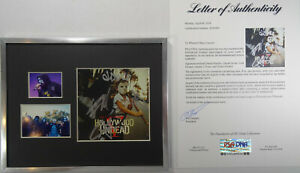 SIGNED HOLLYWOOD UNDEAD AUTOGRAPHED 5 FIVE CD FRAMED CERTIFIED PSA LOA # AD03847