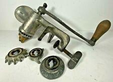 Vintage Meat Grinder Chopper Landers Frary & Clark Universal No 1 Cast Iron