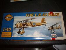 SMER  FIAT CR-42 FALCO  PLASTIC MODEL 1/40