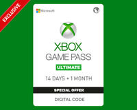Xbox Game Pass Ultimate 14 days + 1 Month - Region Free / Global - Last Offer