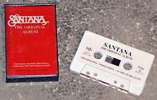 Cassette Audio Santana - The Original album - K7 RARE