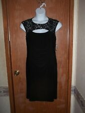 NWT~ R & M RICHARDS EMBELLISHED RUCHED BACKLESS FORMAL WEAR DRESS~SIZE 14