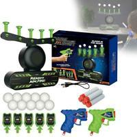 Air Shot Hover Floating Target Games Foam Dart Blaster Balls Shooting Kids B5R4