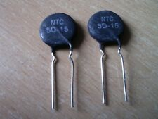 2 x NTC 5D15. 5 OHM, 6A,Einschaltstrombegrenzer ind. Lasten