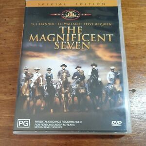 The Magnificent Seven SPECIAL EDITION DVD R4 LIKE NEW FREE POST