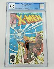 Uncanny X-Men #221 CGC 9.6 1st Mr Sinister NM+ White Pages