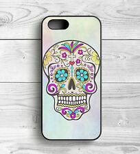 Pastel Sugar Skull for iPhone 4/4s 5/5s 6/6s 6 Plus iPhone 7 7 Plus iPod 4/5/6
