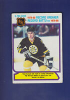 Ray Bourque RB HOF 1980-81 O-PEE-CHEE OPC Hockey #2 (VGEX) Boston Bruins