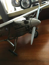""" ""Modellino aeroplano Spirit of St. Louis, Charles Lindbergh, Fatto a mano"